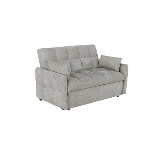 Cotswold Tufted Cushion Sleeper Sofa Bed Beige