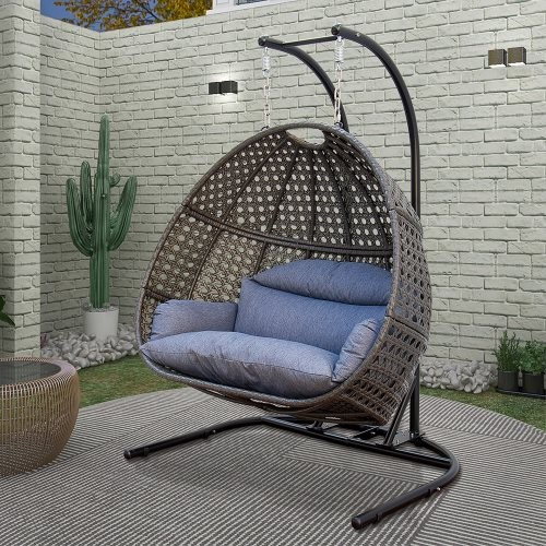 2 Person swing chair hanging chair Outdoor Patio