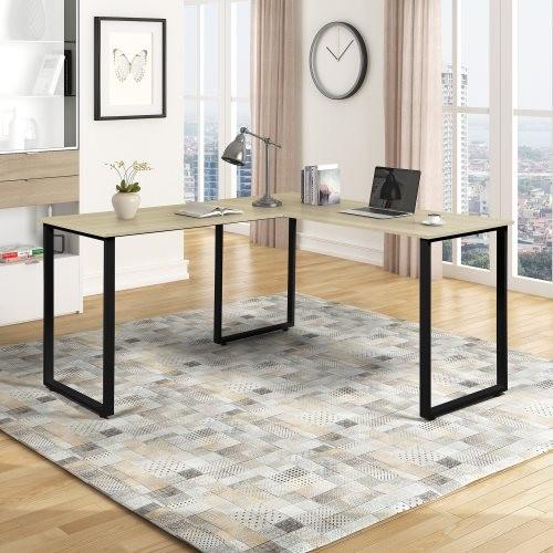 Home Office L-Shape Corner Table Computer Desk