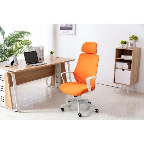 Home office Chair ——Ergonomic Mesh Chair Computer Chair Home Executive Desk Chair Comfortable Reclining Swivel Chair and High Ba