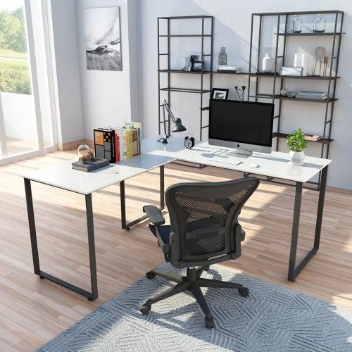 U_STYLE L-shape computer desk