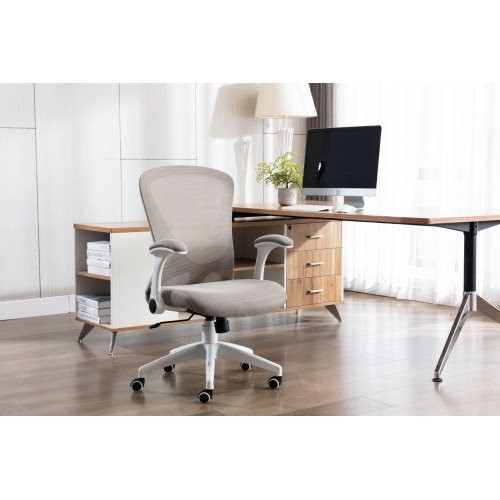Home office Chair ——Ergonomic Mesh Chair Computer Chair Home Executive Desk Chair Comfortable Reclining Swivel Chair and Mid Bac