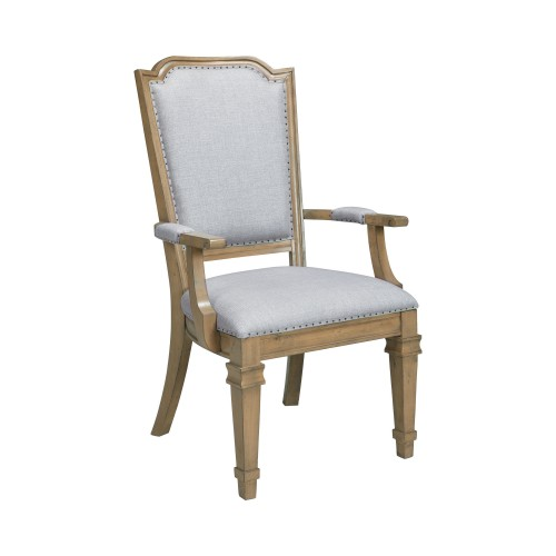 Florence Arm Chairs Grey And Rustic Smoke (Set Of 2)